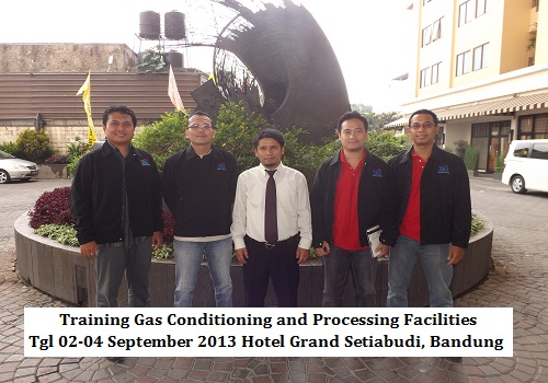 Training Gas Conditioning and Processing Facilities